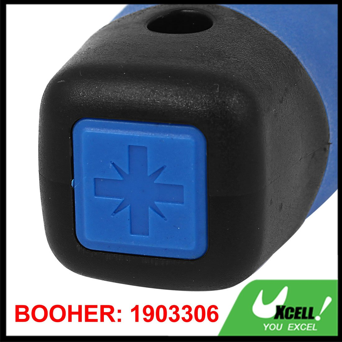 sourcing map BOOHER Authorized 100mm Bar Length R2 Square Recess Screwdriver Hand Tool