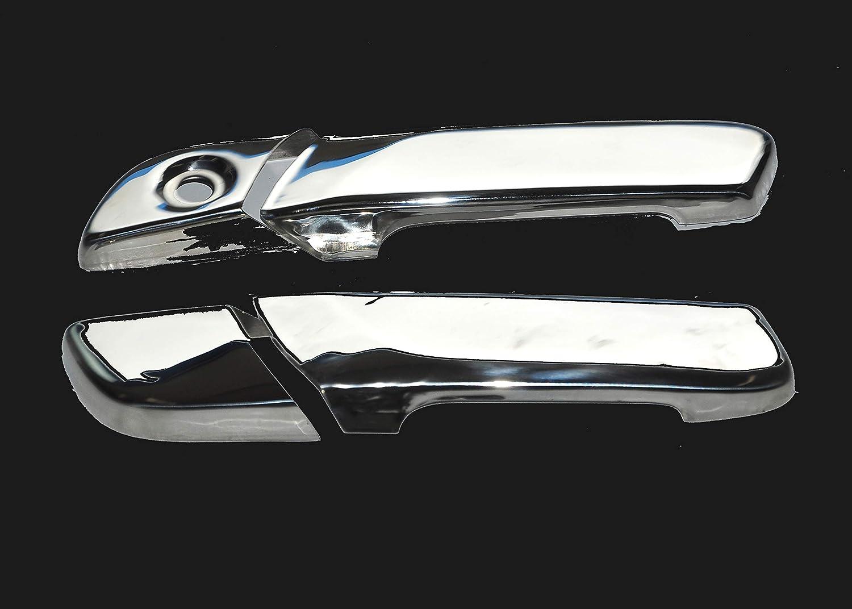 pour Volvo FH4 couvercles poign/ées de porte inox super poli 4 pi/èces