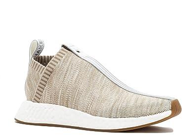 179309ab9fc01 adidas Mens Kith X Naked NMD CS2 PK S.E Tan White Fabric Size 9