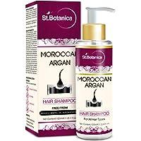StBotanica Moroccan Argan Hair Shampoo With Organic Argan Oil, 100ml