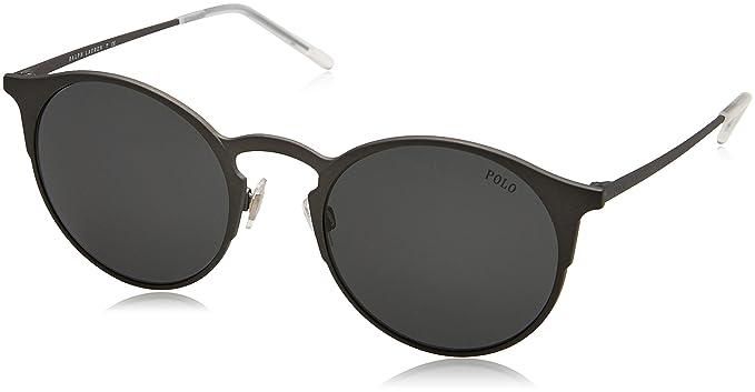 Ralph Lauren Polo 0PH3113, Gafas de Sol para Hombre, Matte Gunmetal, 51