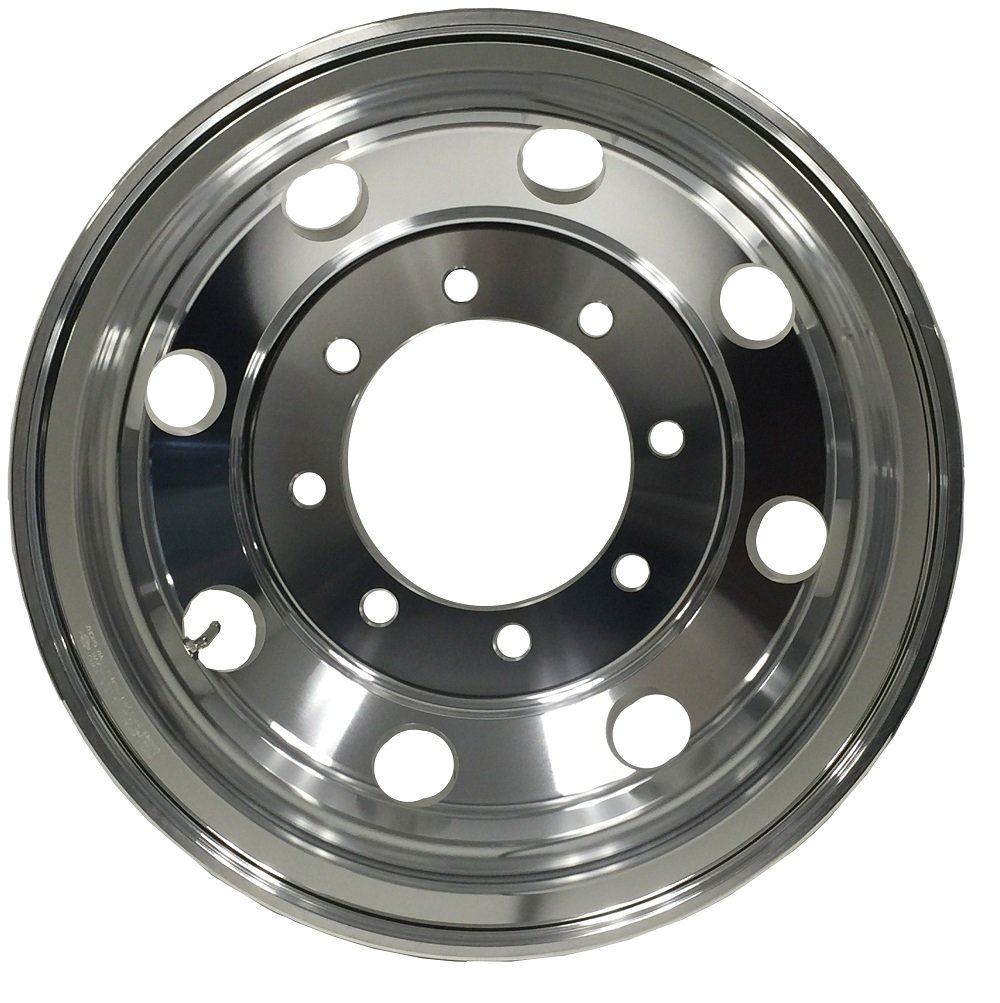Both side Polish Finished-for All Position MOTORHOME A227506 Aluminum Wheels 22.5 x 7.5 Hub Pilot PCD:8X275 ALCOA STYLE