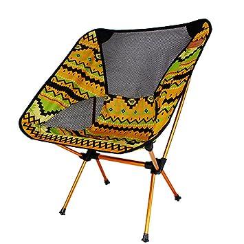 Mutang Extérieur En Alliage Daluminium Chaise Pliante Portable