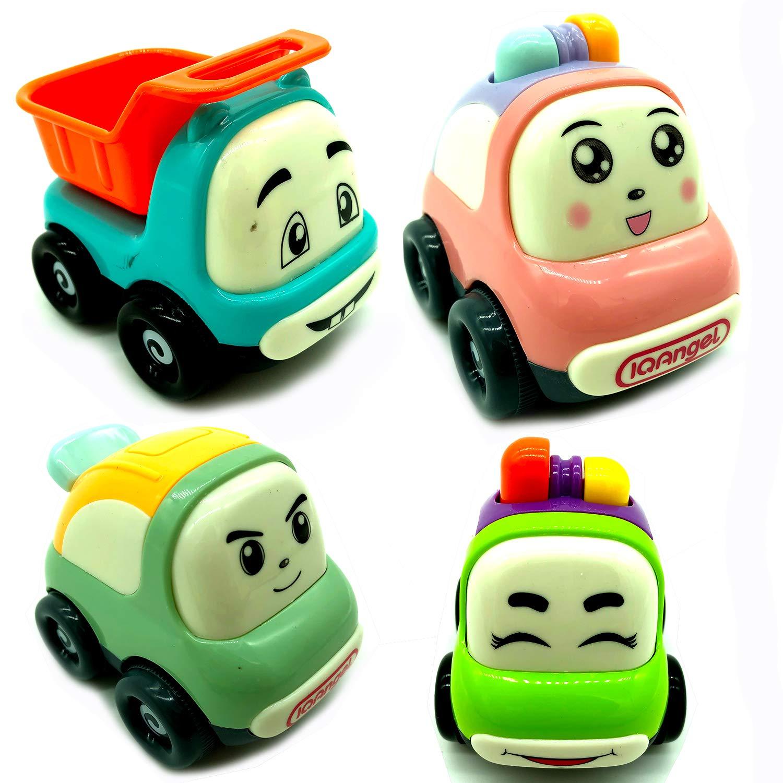 Amazon Com Mini Cartoon Toy Cars Set Of 3 Play Vehicles