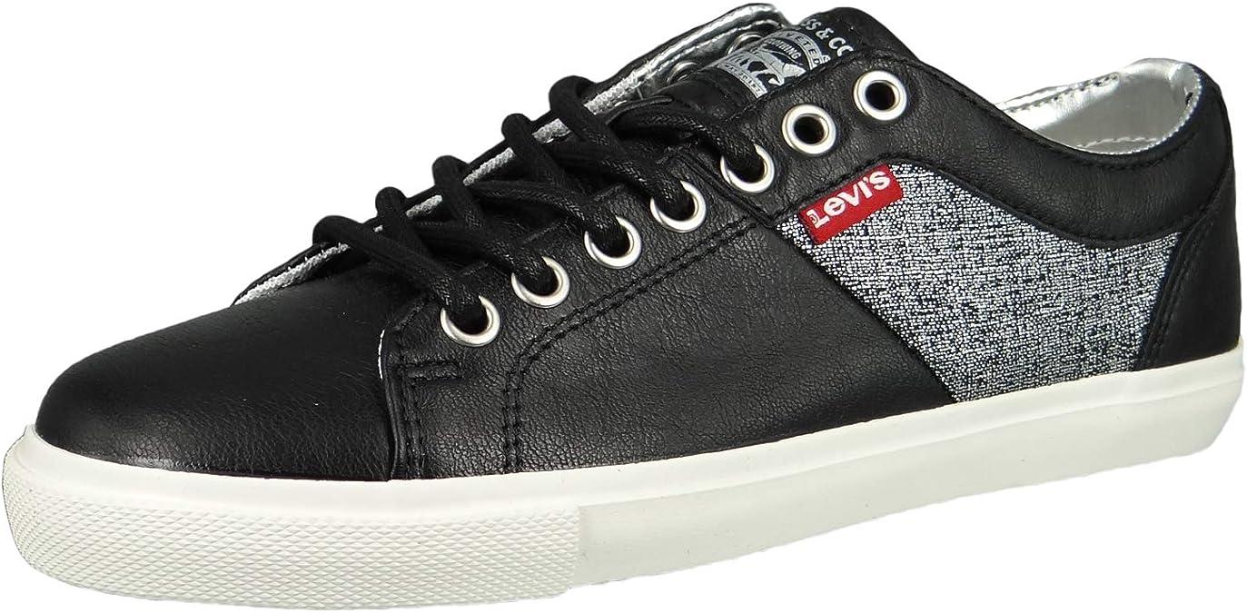 Levi's Woods W Sneaker Damen Schwarz Sneaker Low: