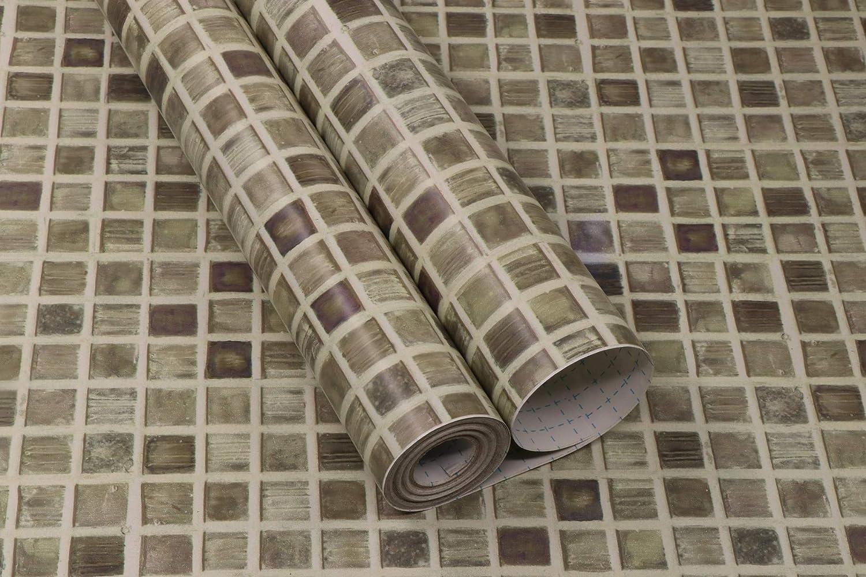 - Self Adhesive Wall Tile Peel And Stick Backsplash For Kitchen