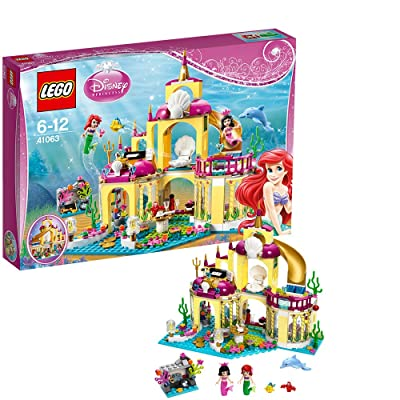 Lego Disney Princess Ariel Sea Palace 41063: Toys & Games
