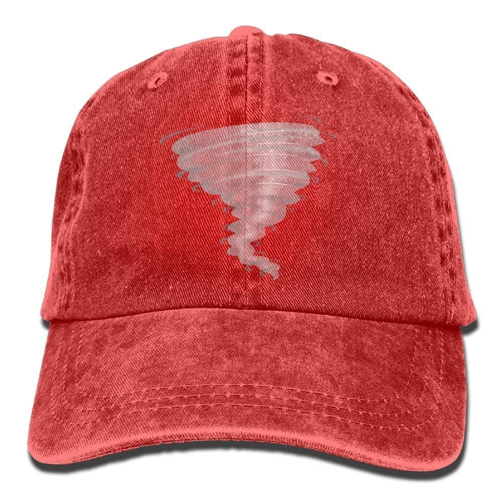 JTRVW Storm Stormy Tornado Unisex Adjustable Baseball Caps Denim Hats Cowboy Sport Outdoor