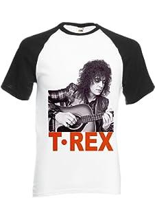 6878ec832 Marc Bolan T-Rex Slider English Rock 70 s 80 s Black White Men Women Unisex