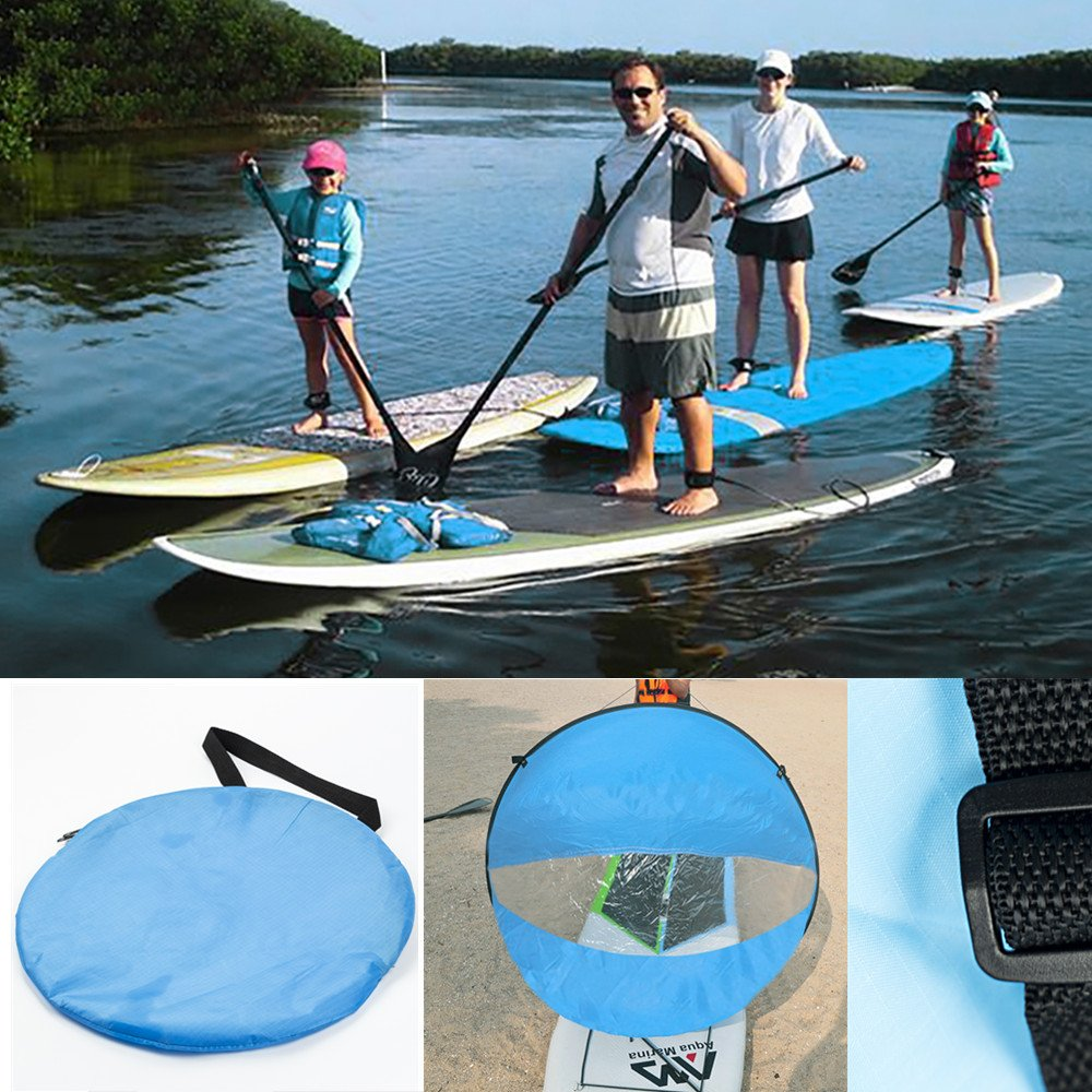 "Easy Kayak Sailing Kayak Sails /""Adventure Wind Paddle/""  Instant Sail Kit"