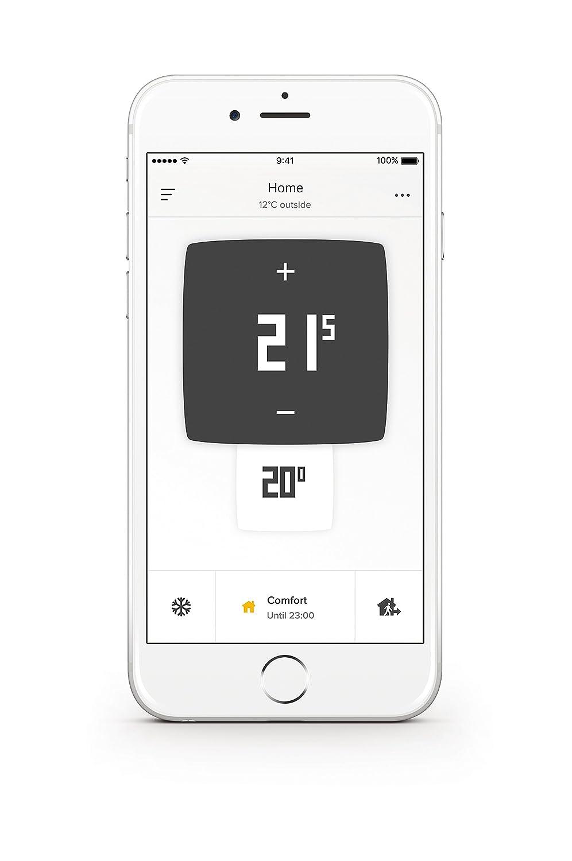 Thermostat Connect/é pour chaudi/ère individuelle Netatmo NTH01-FR-EC