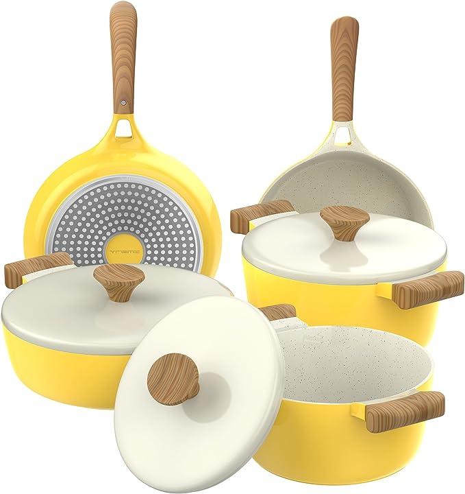 Vremi Ceramic Cookware Set