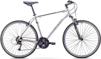 ROMET ORKAN 2 M Bicicleta de Cross, Gris-Negro, 19 Pulgadas ...
