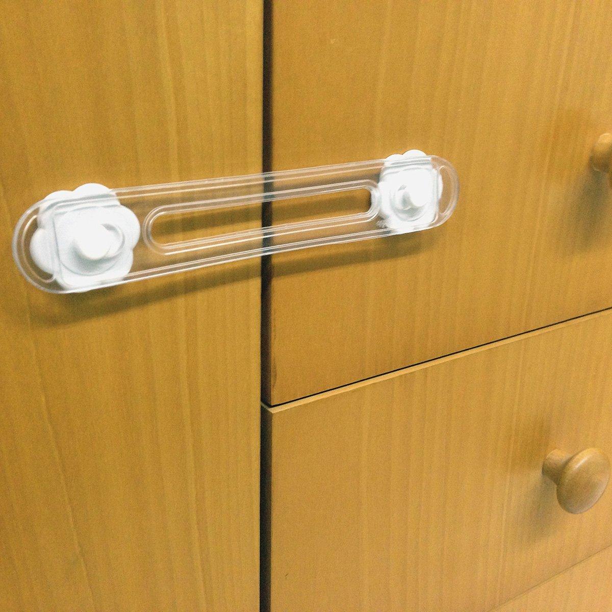 BriKids B20510B Cierre de seguridad para armarios y cajones color blanco