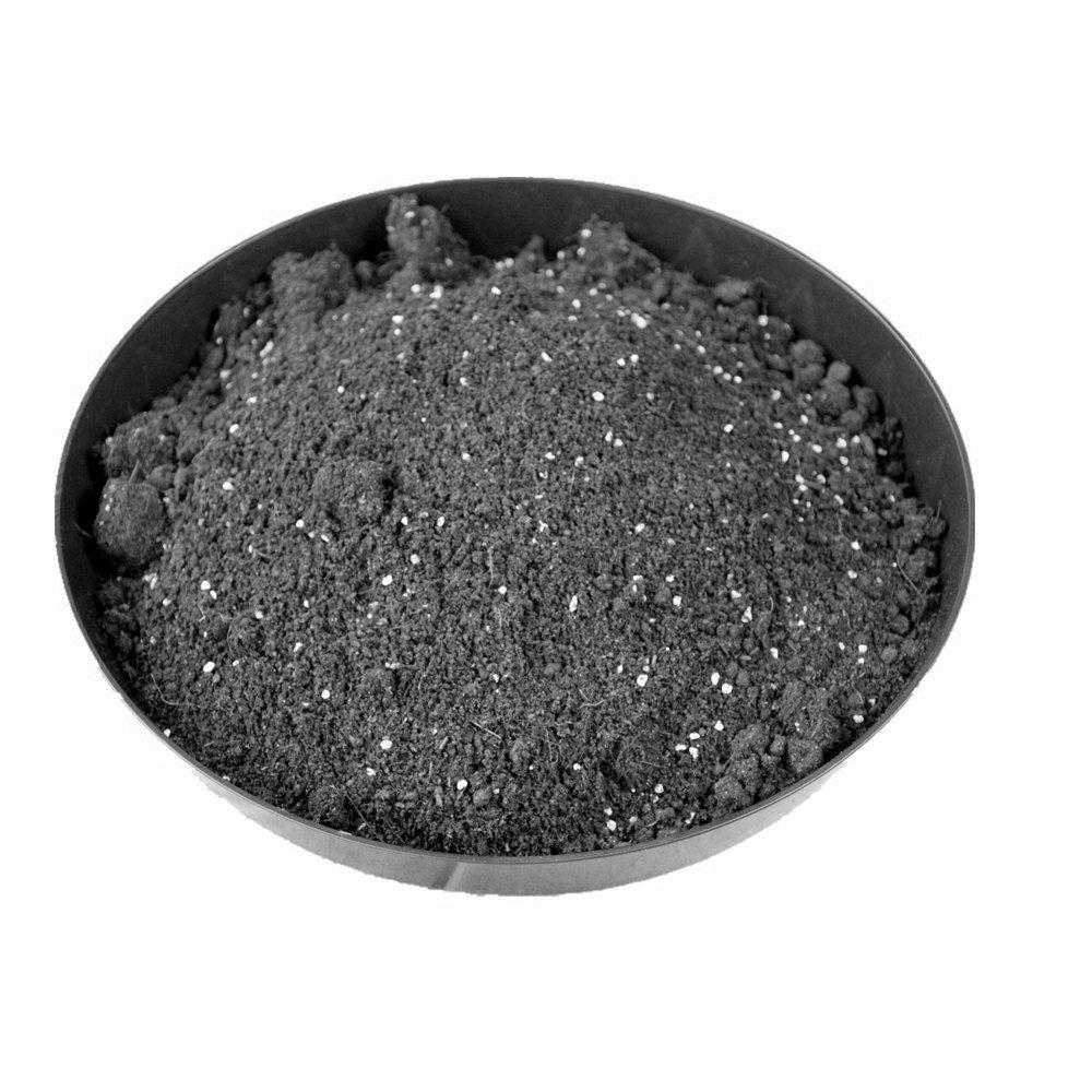Penseetek 6 Pack 14 Inch Heavy Duty Round Plant Saucer for Nursery Pots-14 Inch Diameter Black Plastic Garden Plant Saucer 6, 14 Inch Plant Saucer
