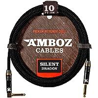 Cable de Instrumentos Silent Dragon negro - Sin