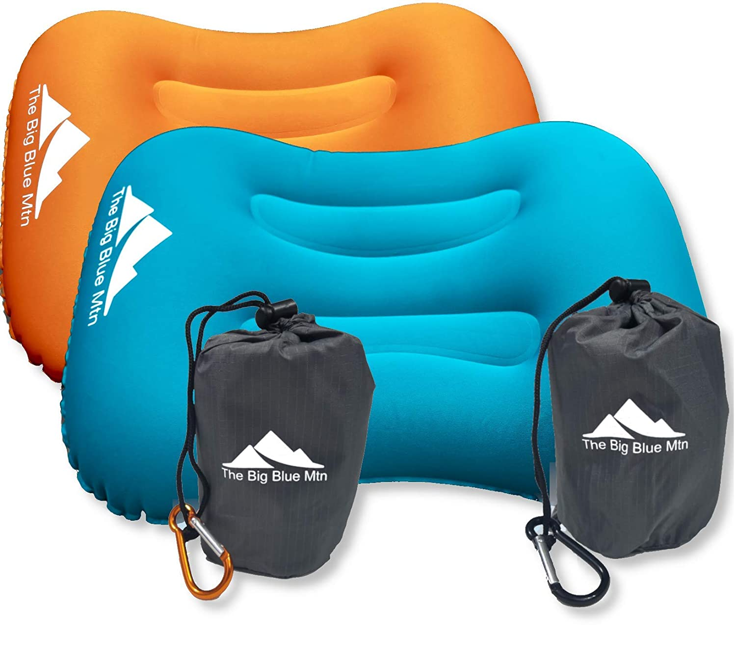 The Big Blue Mtn Ultralight Backpacking Inflatable Camping Pillow