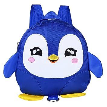 Tnfeeon Mochila de pingüino de Dibujos Animados Linda Mochila con ...