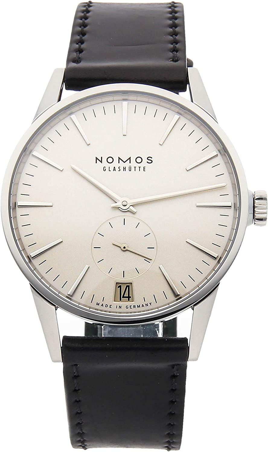 Nomos Glashutte Zurich Mechanical (Automatic) Silver Dial Mens Watch 802 (Certified Pre-Owned)