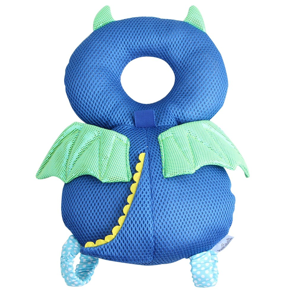 Luerme Protector de Cabeza para Bebés de Aprender Caminar Cojines de Protección Antigolpeas Cojines Infantiles de Ángelo y Diablo Pueri