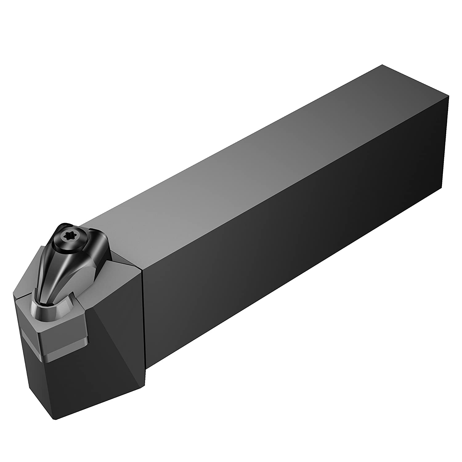 Steel Rigid Clamp External Square Shank Sandvik Coromant DSRNR 16 4DM1 Turning Insert Holder 1 Width x 1 Height Shank 6 Length x 1.04799 Width Right Hand SNMG 432 Insert Size