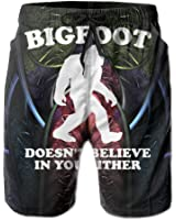Bigfoot Doesn't Believe In You Men's Casual Classic Fit Short