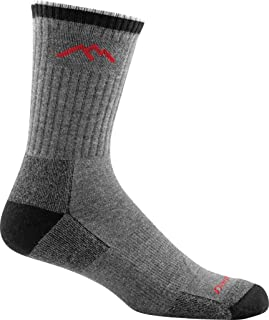 product image for Darn Tough Men's Coolmax Micro Crew Cushion (1931) / Boot Socks Full Cushion Merino Wool (1932) - 6 Pack