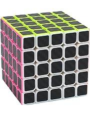 Zauberwürfel 5x5x5 Coolzon® Speed Cube Würfel Carbon Faser Aufkleber Neue Geschwindigkeits Super Schnell und Glatt