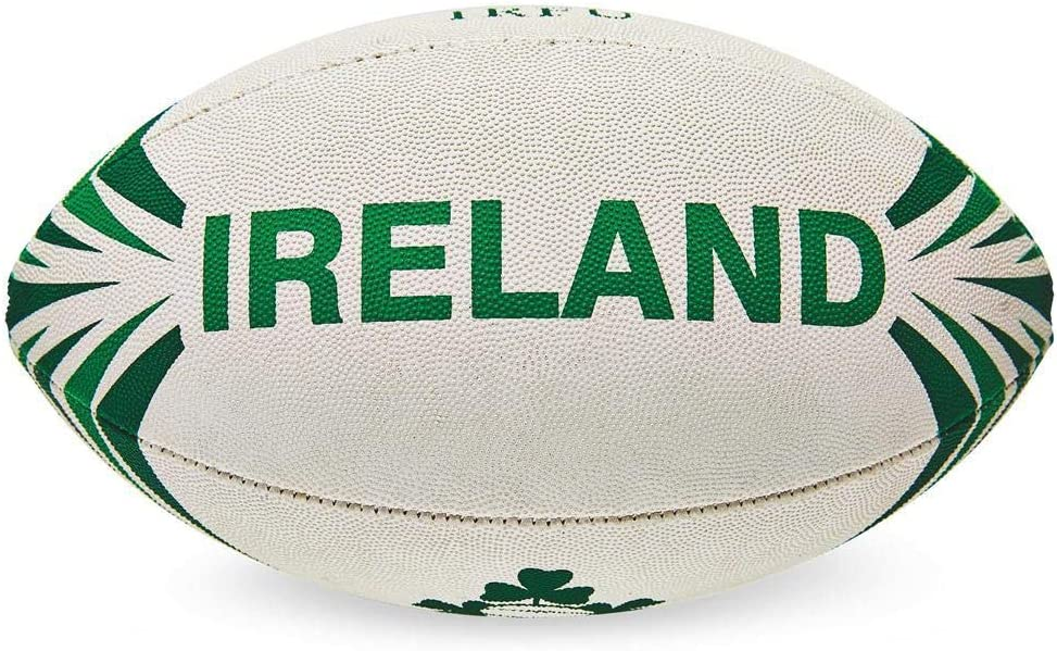 Irlanda R.F.U. pelota de rugby Midi oficial Merchandise: Amazon.es ...