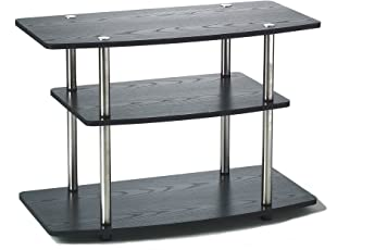 Convenience Concepts 3-Tier TV Stand for Flat Panel TV's up to 32-Inch or 80-Pound