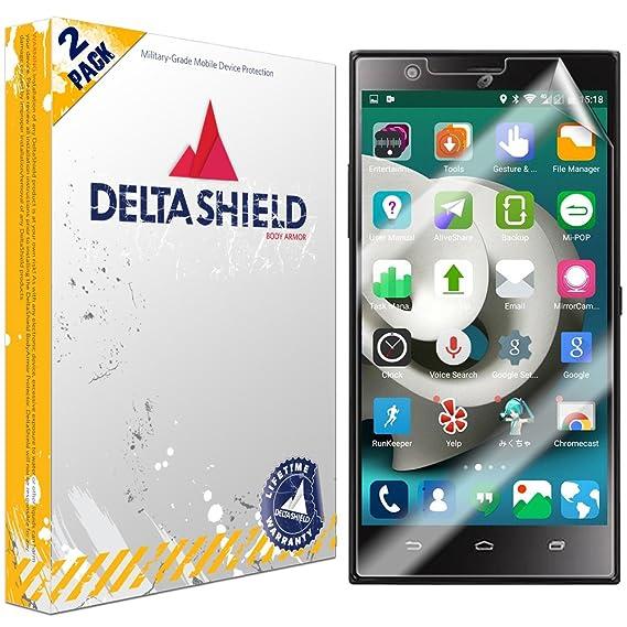 Amazon com: ZTE Lever LTE Screen Protector [2-Pack