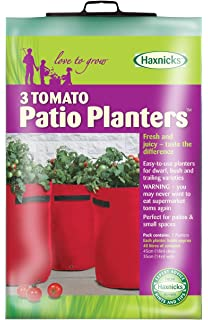 Perfect Tierra Garden 50 1050 Haxnicks Tomato Patio Planter And Grow Bag, 3 Pack