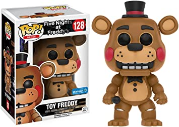 Funko Five Nights At Freddys Toy Freddy Pop! Vinyl Exclusive: Amazon.es: Juguetes y juegos