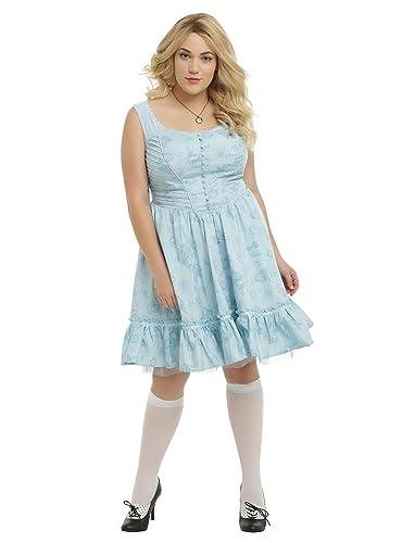 Disney Alice Through The Looking Glass Alice Tea Party Dress Plus ...
