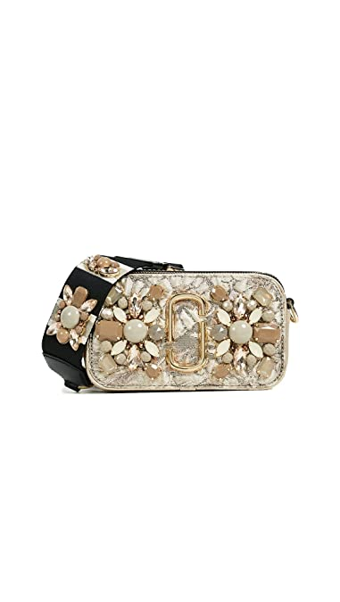 aee34a981389 Amazon.com  Marc Jacobs Women s Snapshot Camera Bag in Floral Brocade