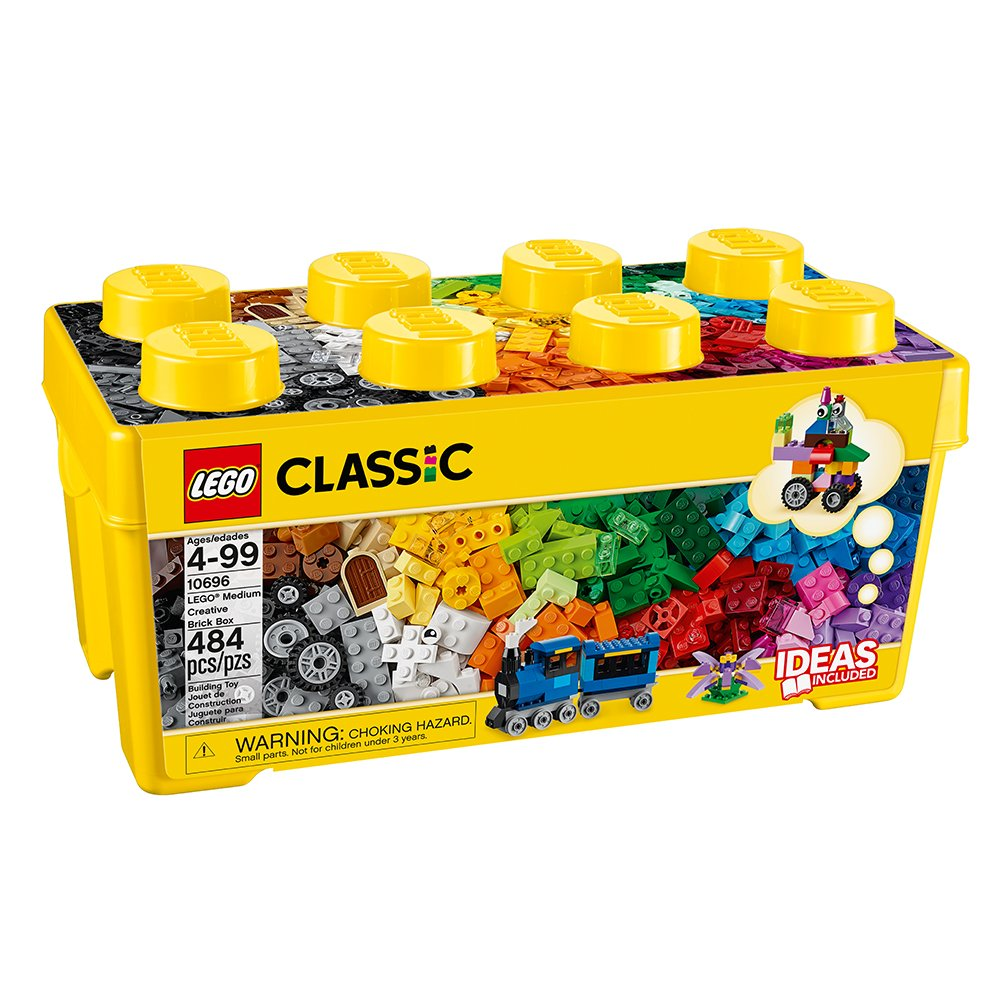 $26.20 (was $46) LEGO® Classic Medium Creative Brick Box 10696 Learning Toy