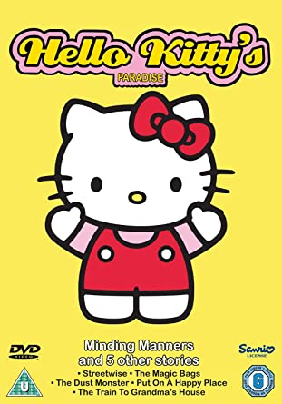 48ea6a789cdd Hello Kitty s Paradise Minding Manners   5 Other Stories DVD  Amazon ...