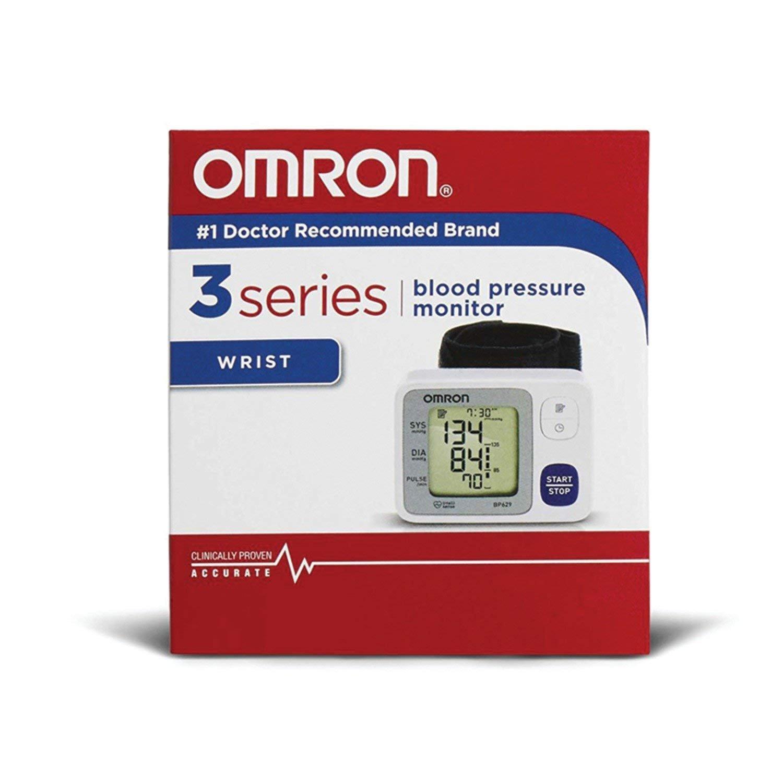Omron 3 Series™ Wrist Blood Pressure Monitor