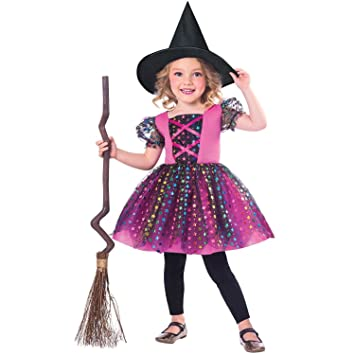 Child Rainbow Witch Costume Age 1,2 YEARS
