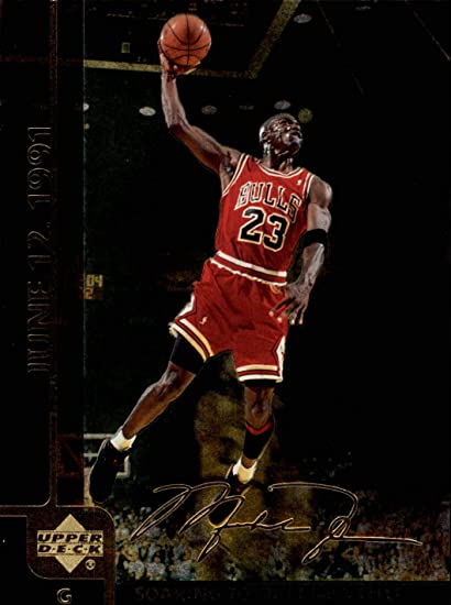 32890dc7390 Image Unavailable. Image not available for. Color: 1999 Upper Deck Michael  Jordan Gatorade #MJ1 ...
