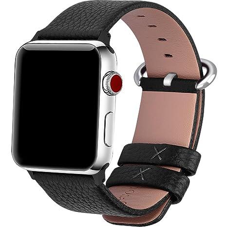 Fullmosa Bracelet Pour Apple Watch 38mm 42mm 40mm 44mm Serie4 Cuir