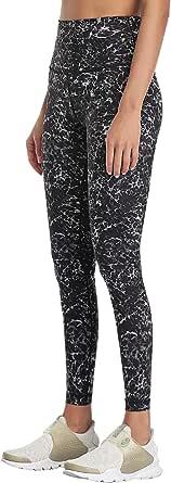 AXESEA High Waist Leggings for Wowen, Yoga Pants with Inner Pocket Tummy Control 7/8 Length Workout Pants