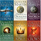 Game of Thrones Collection George R.R. Martin 6 Books Set (A Dance With Dragons, A Feast for Crows, A Storm of Swords…