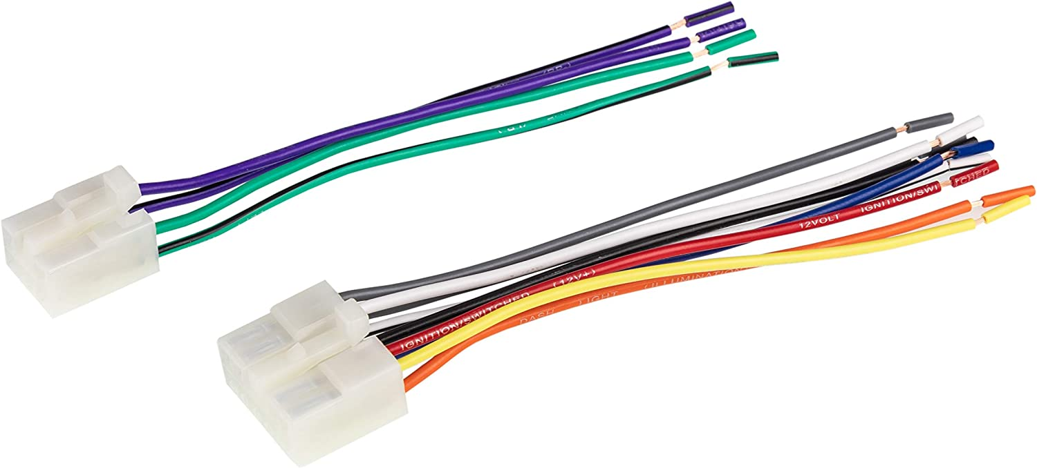 [DIAGRAM_3US]  Amazon.com: SCOSCHE TA02RB Car Speaker Wiring Harness Connector Kit  Compatible with Select 1984-Up Toyota Camry, Corolla, Celica, Highlander,  Prius, Sequoia, Tacoma, Tundra, Sienna, Sequoia and More: Car Electronics | Scosche Wiring Harness |  | Amazon.com