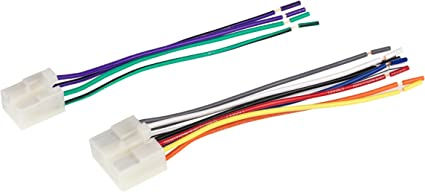 Amazon.com: Scosche TA02RB Compatible with Select 1984-17 Toyota  Power/Speaker Connectors/Wire Harness for Re-Installing The Factory Stereo  with Color Coded Wires: Car ElectronicsAmazon.com