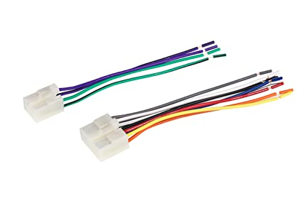 Wondrous Amazon Com Scosche Ta02Rb Car Speaker Wiring Harness Connector Kit Wiring 101 Relewellnesstrialsorg