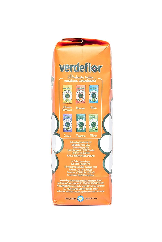Yerba mate Verdeflor Naranja 500g: Amazon.es: Alimentación y ...