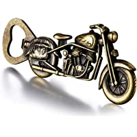 Motorcycle Beer Gifts for Men Dad Husband Fathers Day, Vintage Motorcycle Bottle Opener, Christmas Presents Stocking…