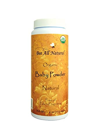 f371934264303 Bee All Natural, Baby Powder Organic, 5 Ounce