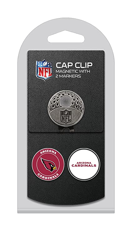 Team Golf NFL Arizona Cardinals Golf Cap Clip with 2 Removable Double-Sided  Enamel Magnetic 2e63c40f40b
